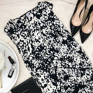 Dresses & Skirts - Black and White Maternity Dress Mamas and Papas